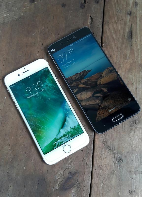 Xiaomi Mi5 vs iPhone 6.png